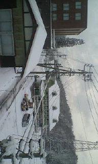雪だぁ!!!